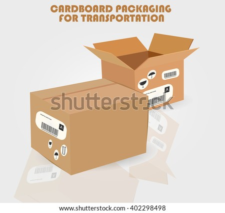 CARDBOARD PACKAGING FOR TRANSPORTATION