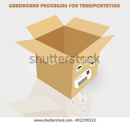 CARDBOARD PACKAGING FOR TRANSPORTATION