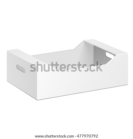 cardboard product box