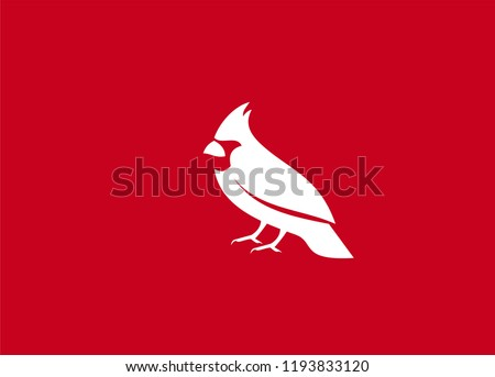 cardinal bird  logo icon