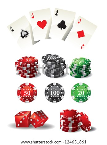 Cards Chips Poker