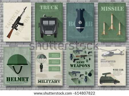cards of military equipment