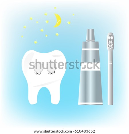 care teeth at night  a healthy
