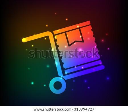 cargo box design rainbow