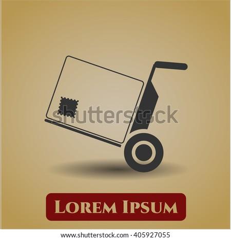 Cargo icon or symbol