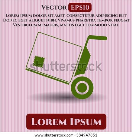 Cargo vector icon