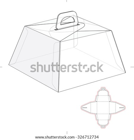 vector images illustrations and cliparts caring birthday cake box