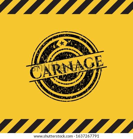 carnage grunge black emblem