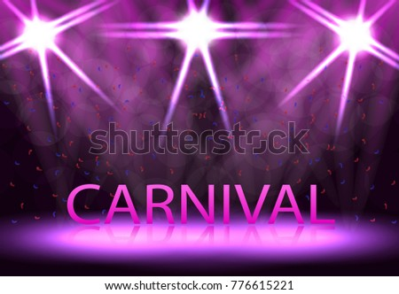 carnival  festival  show stage