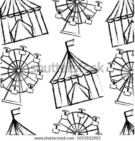 carnival funfair festive pattern