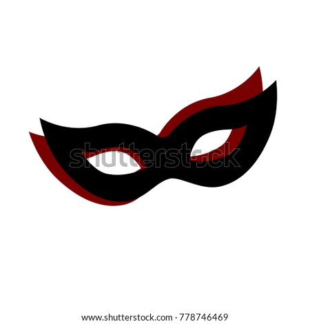 carnival mask logo design