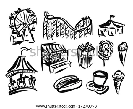 Carnival Clip Art Black And White Black People Clip Art