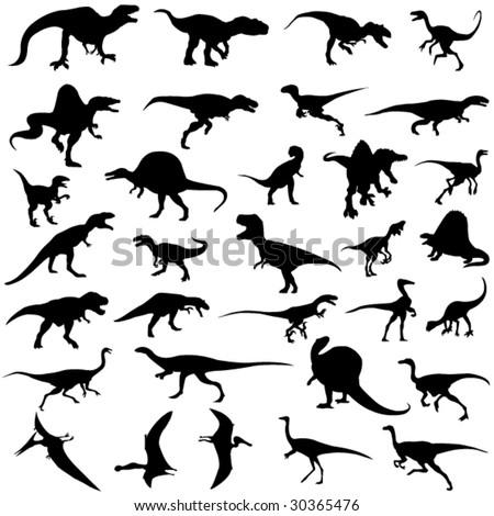 Carnivorous dinosaur in Jurassic Park