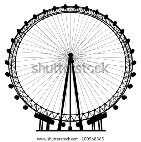 carousel silhouette vector 20