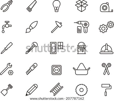 Carpenter Tools icons