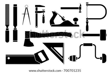 Lumberjack Tool Vector Icons Download Free Vector Art Stock