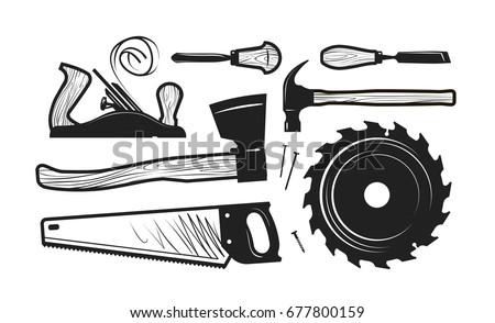 clip art hand tools lumberjack tool vector icons download free vector art stock