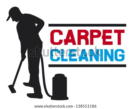 carpet cleaning service man and a carpet cleaning