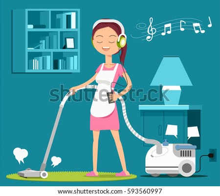 carpet cleaning with a song to