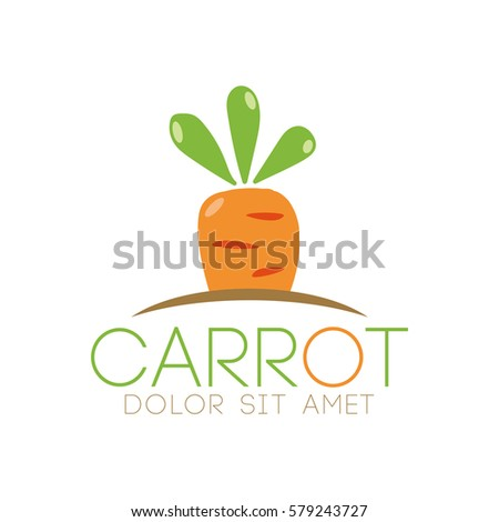 Carrot logo vector