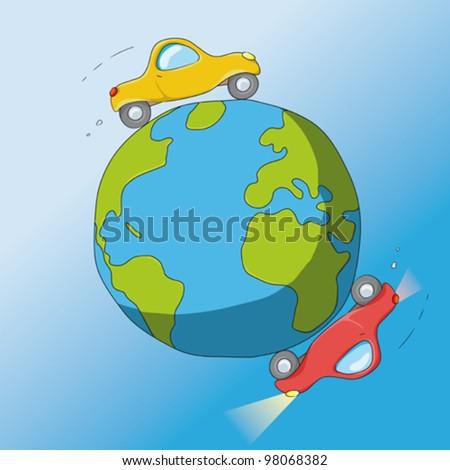cars around the world