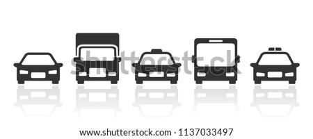 cars transportation icons