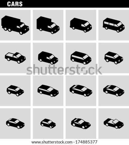 cars vectors