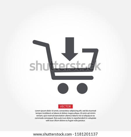 cart Vector icon