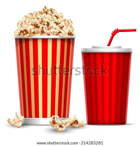 carton bowl full of popcorn and