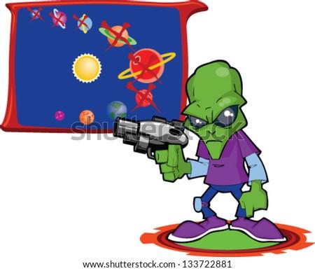 Cartoon Alien Invasion - We\'re Next!