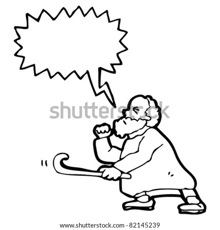 Old Man Cartoon Drawing Angry Old Man Drawing Cartoon