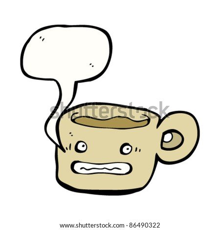 Animated Cup of Coffee http://www.shutterstock.com/pic-86490322/stock-vector-cartoon-anxious-coffee-cup.html