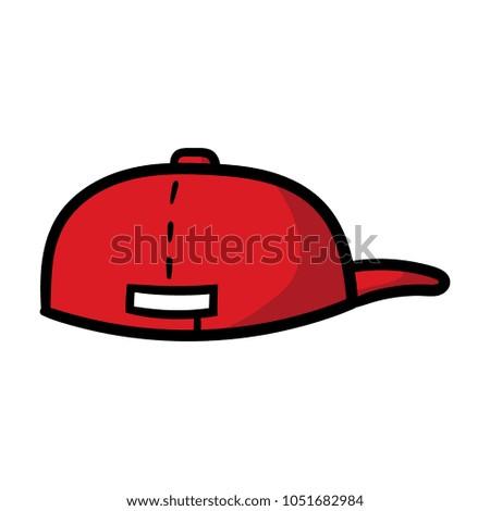 Cartoon Backwards Hat