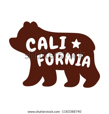 stock-vector-cartoon-bear-silhouette-with-text-california-californian-grizzly-bear-profile-with-cute-stylized