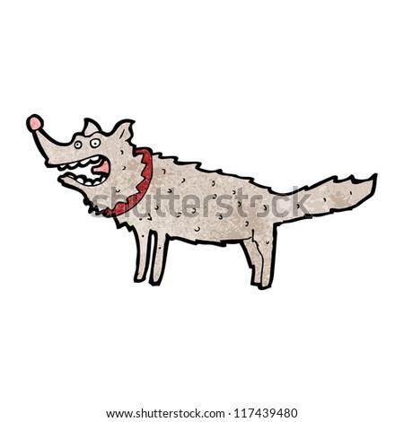 cartoon big dog