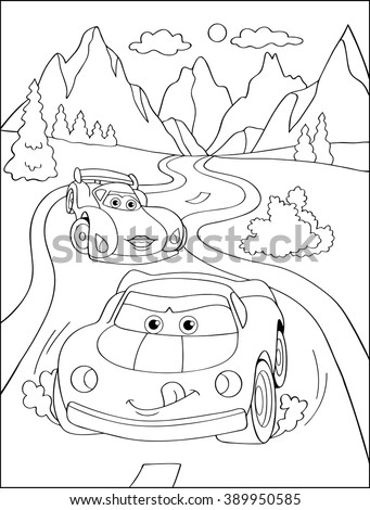 Cartoon blue car sticker for boys.Vector illustration of doodle car for scrapbook.Transportation Applique Background. Funny smile car in paper cut style. Comic character for textile