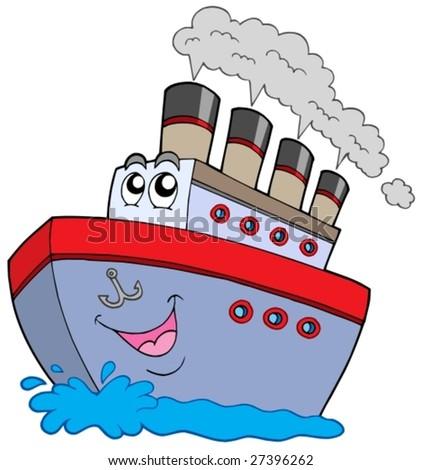 Cartoon Boats on Water Free Cartoon Boats on Water