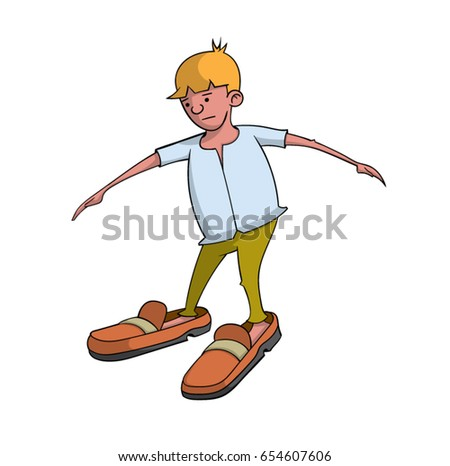 big boy feet images