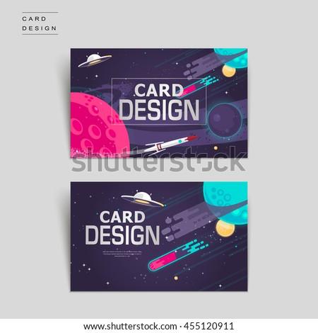 cartoon business card template