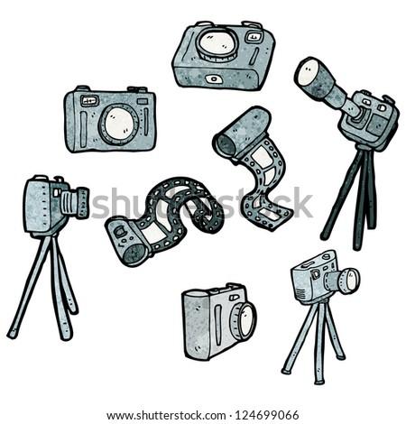 cartoon cameras