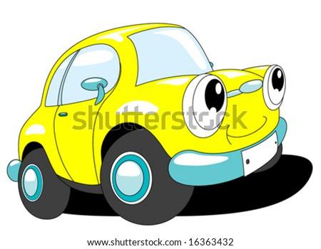 cartoon car washing. stock vector : Cartoon car
