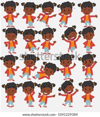 cartoon character black girl