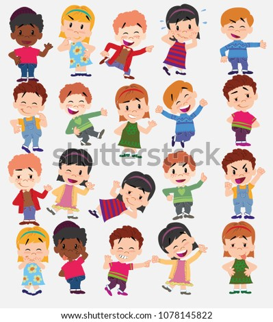 cartoon character boys and