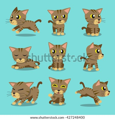cartoon character brown tabby