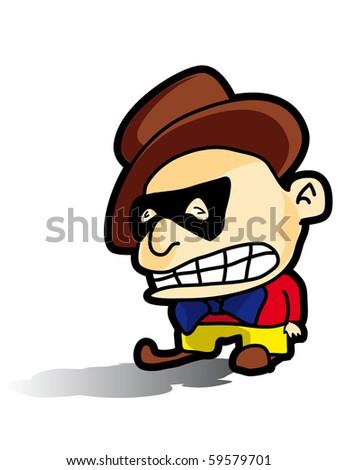 cartoon character gangster