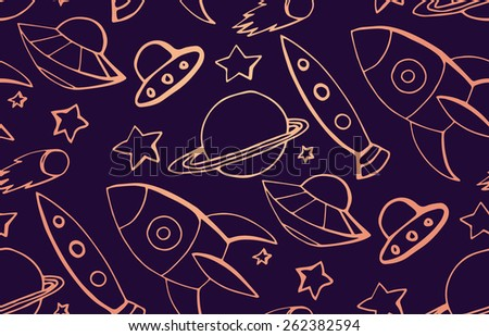 cartoon children pattern on the
