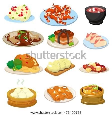 cartoon chinese food icon
