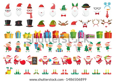 cartoon christmas collection