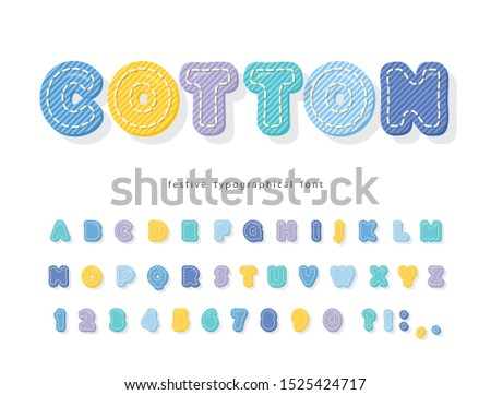 cartoon colorful font for kids