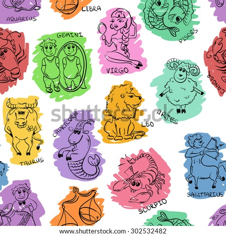 cartoon colorful seamless